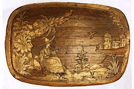 Strohschachtel von Carl Hinrich Hering © St. Annen-Museum Lübeck_Fotoarchiv