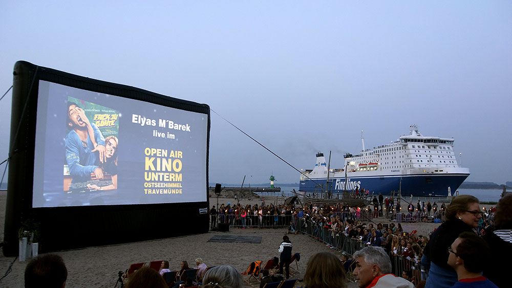 Kino unterm Ostseehimmel TZravemünde ©TraveMedia