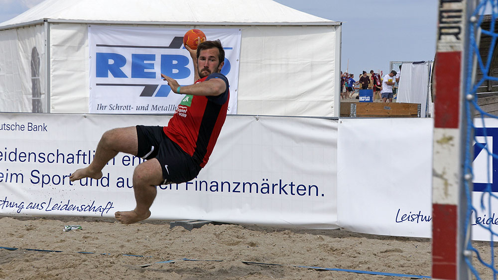 Travemünder Beach-Handball-Cup ©TraveMedia