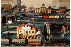 Eisenbahnanlage © Kreismuseum Ratzeburg