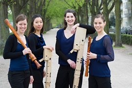 Boreas Quartett © Barbara Frommann
