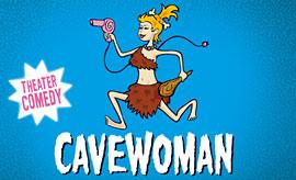 Plakat Cavewoman