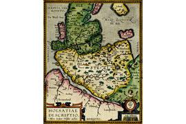 Holsatiae Descriptio - Kupferstich 1603 © Eutiner Landesbibliothek