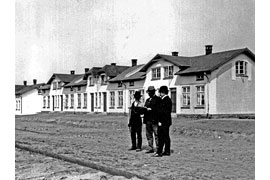 Leben in der Werkssiedlung © Industriemuseum Geschichtswerkstatt Herrenwyk