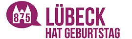 Logo 875 Jahre Lübeck hat Geburtstag © Lübeck und Travemünde Marketing (LTM)