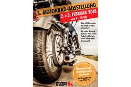 Plakat 3. Motorrad-Ausstellung Bad Segeberg © MÖBEL KRAFT