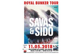 Plakat Savas & Sido - Kalkberg Bad Segeberg