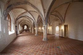 Lange Halle des Burgklosters - Ausstellungsort 875 Jahre Lübeck © Thomas Radbruch