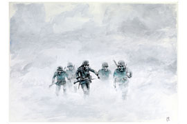 Nebel - Im Westen nichts Neues © Peter Eickmeyer