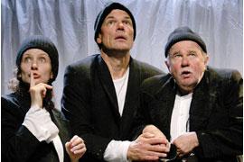 Lisa Wildmann, Wolfgang Seidenberg und Ernst Konarek - Die Legende vom heiligen Trinker © Melanie Fürst
