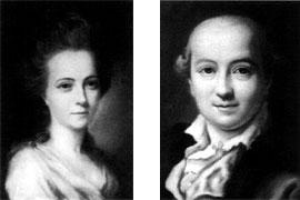 Luise Mejer und Heinrich Christian Boie