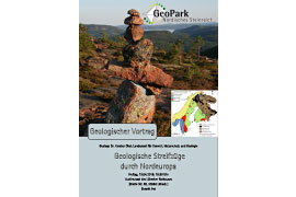 Plakat - Vortrag Geologische Streifzüge durch Nordeuropa