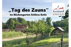 Tag des Zauns im Küchengarten Schloss Eutin © Freundeskreis Schloss Eutin