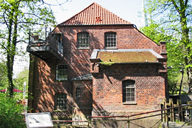 Wassermühle in Lübeck