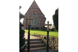 Kirche Sterley © Geopark Nordisches Steinreich