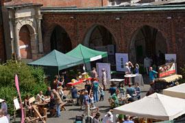 Öko- und Vielfaltsmarkt © Museum für Natur und Umwelt