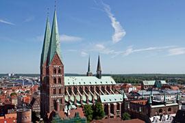 St. Marien zu Lübeck © TraveMedia