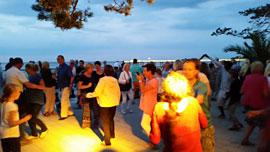 Tanzen am Meer © Timmendorfer Strand Niendorf Tourismus