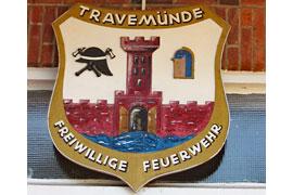 Wappen Freiwillige Feuerwehr Travemünde
