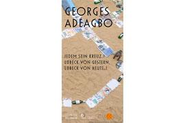 Ausstellung - Georges Adéagbo – Jedem sein Kreuz..! Lübeck von gestern, Lübeck von heute..! Foto: Stephan Köhler, © VG Bild-Kunst, Bonn 2018