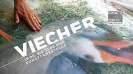 Ausstellung VIECHER © Kunsttankstelle - Inken Kramp
