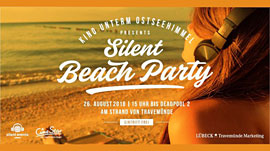 Silent Beach Party Travemünde