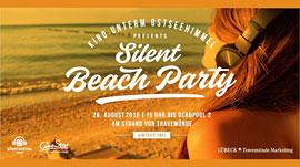 Silent Beach Party Travemünde