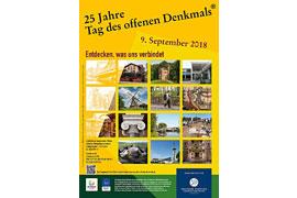 Plakat Tag des offenen Denkmals 2018