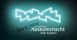 Plakat-Museumsnacht © Kulturstiftung Hansestadt Lübeck, Entwurf Sonia Stegemann