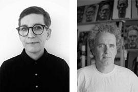 Francesca Heron und Klaus Rybak - Ausstellung Kunsttankstelle Defacto