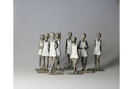 Mädchen mit Mini-Gruppe II © Susanne Kraißer