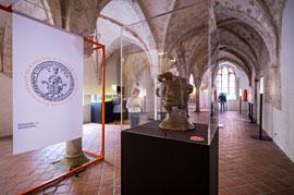 Waldemar-Kopf, Leihgabe des Bereichs Archäologie und Denkmalpflege der Hansestadt Lübeck © Europäisches Hansemuseum, Foto: Olaf Malzahn