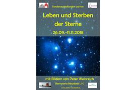 """Ausstellung """"Leben und Sterben der Sterne"""" © zeiTTor, Neustadt in Holstein"""