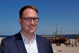 Jan Lindenau in Travemünde © TraveMedia
