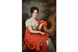 Samt & Seide - Adelheid von Anhalt-Bernburg-Schaumburg-Hoym 1800-1820 © Ina Steinhusen
