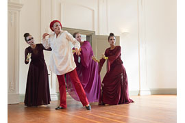 """TanzTheaterEutin """"Die Zauberflöte für Jung und Alt"""" © Berend Neumann"""