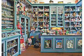 Weihnachtshaus Husum - Historischer Laden © Weihnachtshaus