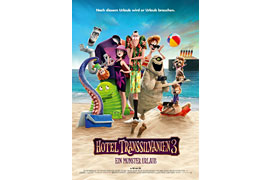 Filmplakat - Hotel Transsilvanien 3