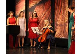 """Opera-Kids und Junges Podium musizieren mit """"alten Hasen"""""""
