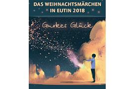 """Plakat """"Gurkes Glück"""" -Weihnachtsmärchen - Theater Eutiner Mischpoke"""