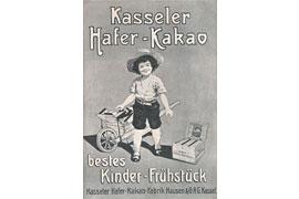 Schokolade Anzeige Fa. Kasseler 1907 © Weihnachtshaus Husum