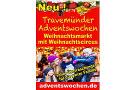Plakat Travemünder Adventswochen