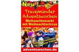 Plakat Travemünder Adventswochen