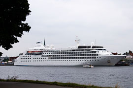 MS Silver Wind in Travemünde