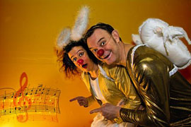Herbert und Mimi - Kindertheater des Monats © Heinz Hanuschka