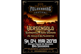 Plakat Felsenburg Festival - Bad Segeberg