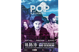 Plakat Pop am Kalkberg - Bad Segeberg