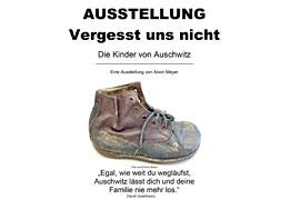 """Ausstellung """"Vergesst uns nicht - Die Kinder von Auschwitz - zeiTTor Neustadt in Holstein © Alwin Meyer"""