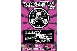 Plakat Bandbattle 2019