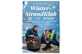 Plakat Winter-StrandKlub 2019 © TSNT